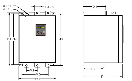 rozměry softstarter kinesoft vybo electric